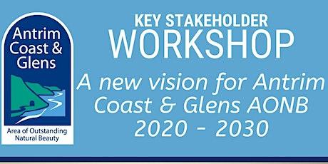 Antrim Coast & Glens AONB Stakeholder Workshop tickets