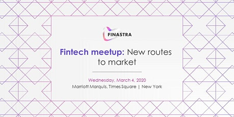 Finastra fintech meetup: New routes to market tickets