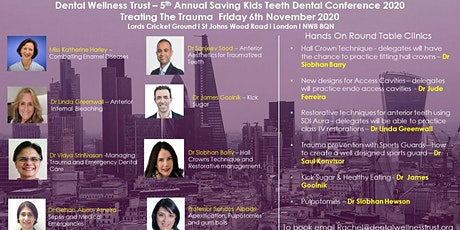 5th Annual Saving Kids Teeth Conference - Treating the Trauma tickets