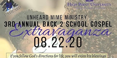 3rd Annual Back 2 School Gospel Extravaganza tickets