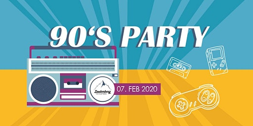We Like To Move It - 90er Party