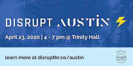 DisruptHR Austin 2020 tickets