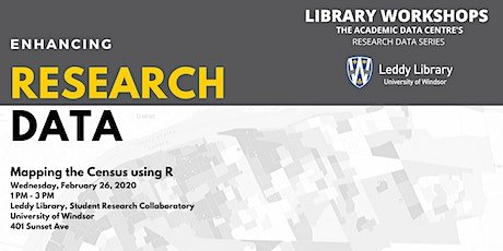 Research Data Workshop#3: Mapping the Census using R tickets