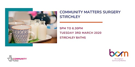 Stirchley Community Matters Surgery, March - BCM