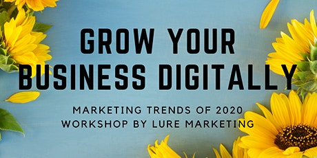 Grow Your Business Digitally tickets