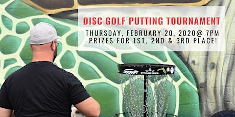 Disc Golf Putting Tournament tickets