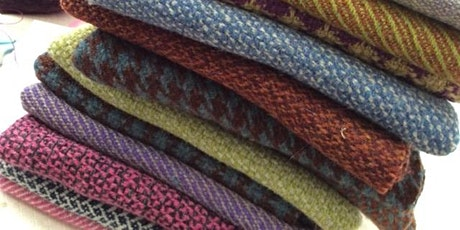 Design and weave your own tweed - All you need to know in 3 days tickets