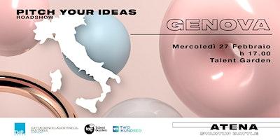 Roadshow Atena Startup Battle | Genova