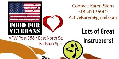 Zumba For Veterans! tickets