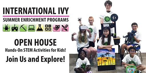 STEM EXPO - International Ivy Open House in Newark, DE