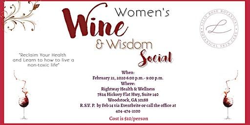 Women's Wine & Wisdom Social