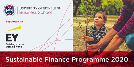 Sustainable Finance Programme 2020 tickets