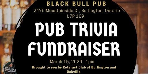 Rotaract Pub Trivia Fundraiser