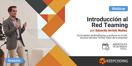 Webinar: Introducción al Red Team entradas