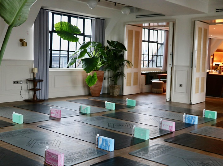 Yoga, Brunch & Clothes Swap at Mortimer House image