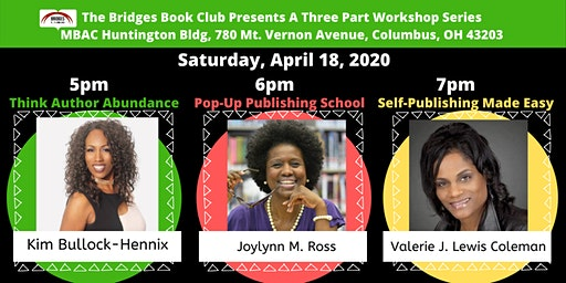 Bridges Book Club Three Part Publishing Workshop