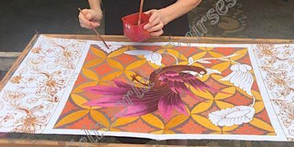 Batik pictures - beginners day