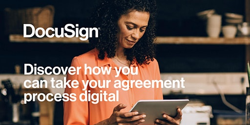 """Discovering DocuSign """"An Introduction to eSignature"""" - London"""