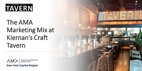 The AMA Marketing Mix at Kiernan's Craft Tavern tickets