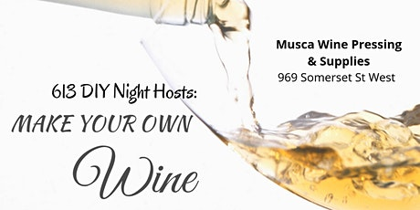 Make Your Own Wine (NEW DATE) tickets