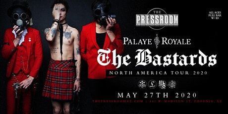 Palaye Royale: The Bastards Tour @ The Pressroom tickets