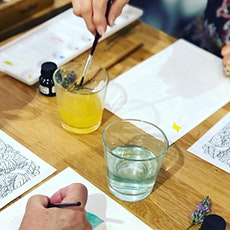 Relax with Watercolour- Self Care Special tickets