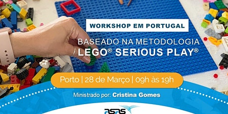 Porto | Workshop baseado em LEGO® SERIOUS PLAY® Open-Source bilhetes