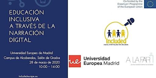 Jornada sobre narración, inclusión educativa y tecnología