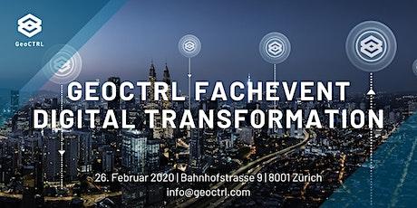 GeoCTRL Fachevent, Digital Transformation Tickets