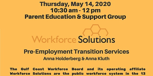 Pre-Employment Transition Services - Texas Workforce Solutions