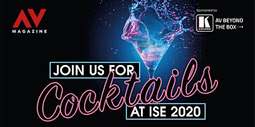 AV Magazine's ISE cocktail party!