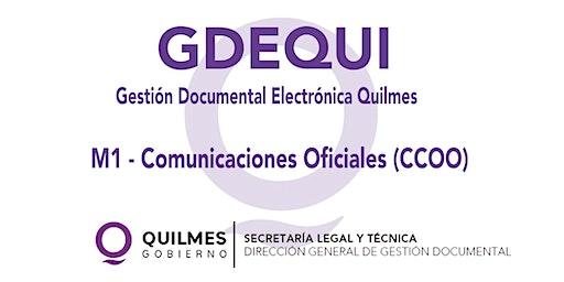 MODULO 1: COMUNICACIONES OFICIALES (CCOO)