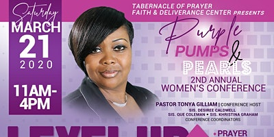 Purple, Pumps & Pearls Women's Conference