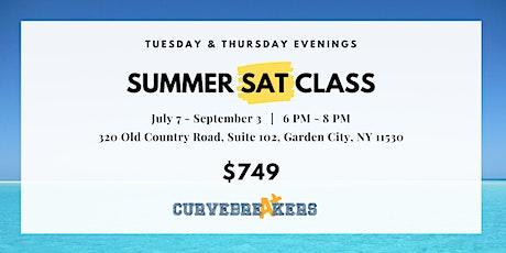Summer SAT Class on Tuesday & Thursday Evenings tickets
