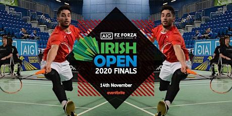 AIG FZ Forza Irish Open Finals 2020 tickets