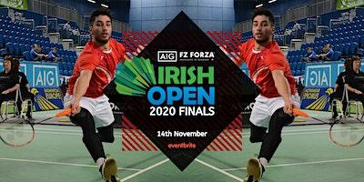 AIG FZ Forza Irish Open Finals 2020