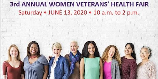"3rd Annual Women Veterans' Health Fair ""Innovative Care for Exceptional Women"""
