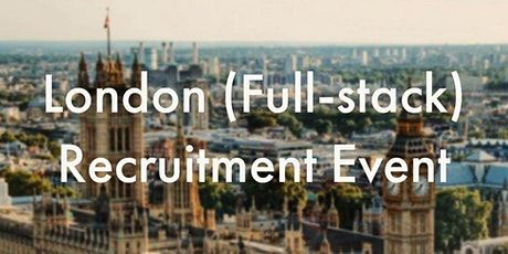HiredEvents - London Full-stack Developer Recruitment (March 19) tickets