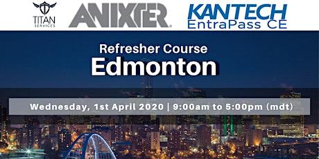 Edmonton Kantech Entrapass Refresher - Anixter tickets
