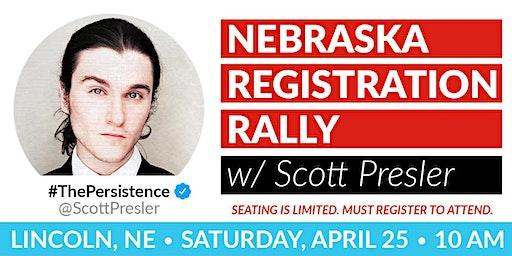 Voter Registration Rally w/  Scott Presler
