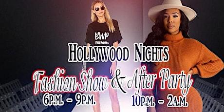 Hollywood Nights Fashion Show tickets