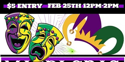Taste OF New Orleans Mardi Gras Party