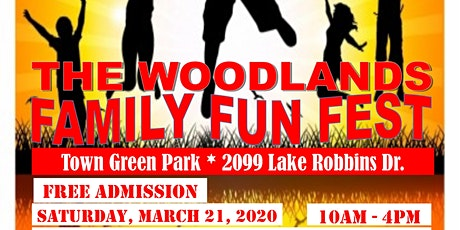 The Woodlands Family Fun Fest tickets