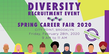 NYU Tandon - Spring 2020  Undergrad Diversity Recruitment Event tickets