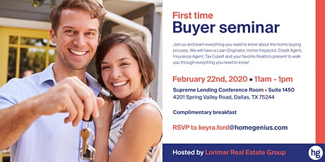 First Time Buyer Seminar!!! tickets