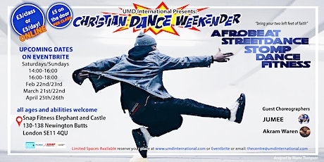 Christian Dance Weekender tickets
