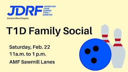 T1D Family Social tickets