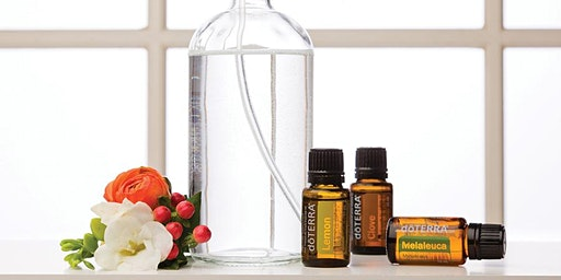 Green Cleaning and Home with Essential Oils: Make and Take Workshop