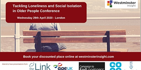 Tackling Loneliness and Social Isolation in Older People tickets