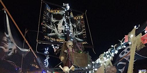 Pirates & Parrots Parade Ride Mardi Gras Galveston Krewe Babalu 2020